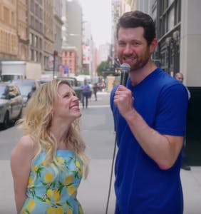 Billy Eichner and Kate McKinnon run around New York convincing people she's Reese Witherspoon