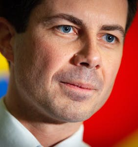 Mayor Pete claims he doesn't read Queerty (We refuse to believe it!)