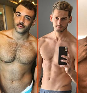 Max Emerson's sweatpants, Austin Mahone's curls, & Jeffrey Bowyer-Chapman's morning shower