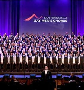 San Francisco Gay Men's Chorus stepped up when Harvey Milk was shot down