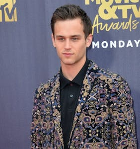 Brandon Flynn addresses Richard Madden relationship rumors