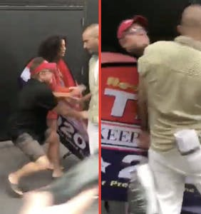 Indya Moore gets into violent altercation with Trump supporter in shocking video