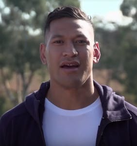 Israel Folau returns to rugby and opposing team responds with rainbows
