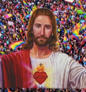 The View's Sunny Hostin said Jesus would attend a Pride parade and antigay Twitter is in a snit