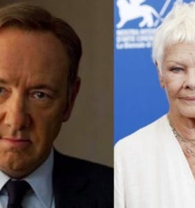 "Judi Dench sticks up for Kevin Spacey & Harvey Weinstein's work: ""You cannot deny somebody a talent"""