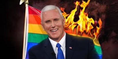 Mike Pence gloats over new anti-LGBTQ Trump rule