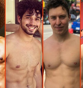 Nick Jonas' new 'stache, Garrett Magee's cool down, & Gus Kenworthy's crop top