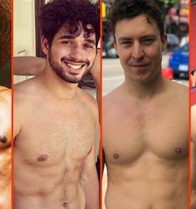 Nick Jonas' new 'stache, Garrett Magee's cool down, & Gus Kenworthy's crop top