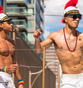 See how the world is celebrating Pride in these breathtaking photos