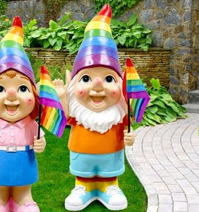 "Man feels triggered by rainbow garden gnomes, flies into ""violent rage,"" police called"