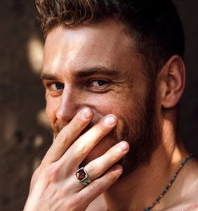Gus Kenworthy is hooking up with Pete Alonzo. You'll never guess why.