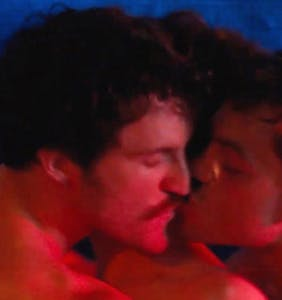 WATCH: Steamy scene released from new film set in retro gay adult film studio