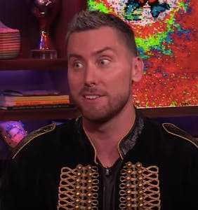 Lance Bass on that time he came out to Britney Spears to make her stop crying on her wedding night