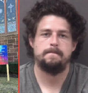 After being charged with one antigay hate crime, this idiot went and did it a second time
