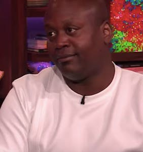 "Titus Burgess is NOT here for Andy Cohen's ""messy queen"" questions"