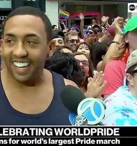 Army Specialist comes out on live TV during World Pride and the crowd goes wild