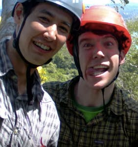That time two dudes got engaged at the top of a tree in the Panamanian rainforest