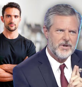 What's this about Jerry Falwell Jr. giving his 'personal trainer' some expensive real estate?