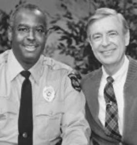 We want to be neighbors with Officer Clemmons from 'Mister Rogers'