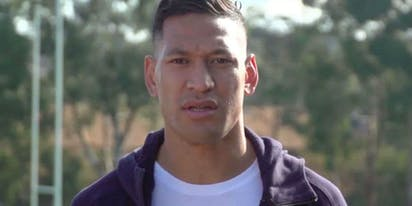 Israel Folau inadvertently donates to queer youth organization