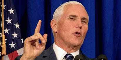 Mike Pence cuts off media's access to top health experts until they give Trump free on-air time