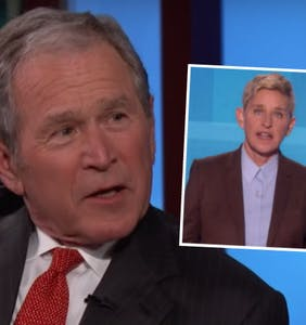 George W. Bush responds to Ellen DeGeneres' comments