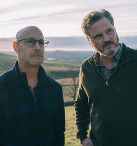 Colin Firth and Stanley Tucci are playing a gay couple and fans are thanking the Zaddy God