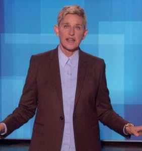 "Ellen DeGeneres defends ""fun"" afternoon with ""friend"" George W. Bush"