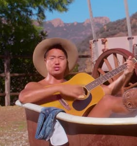 "This gay Asian singer is infiltrating country music by giving off ""Brokeback Mountain"" vibes"