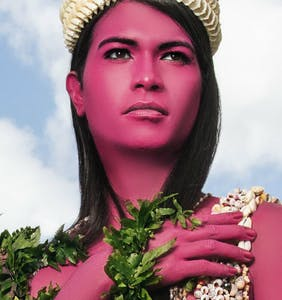 Tahiti's 'third gender' take center stage in vivid London exhibition