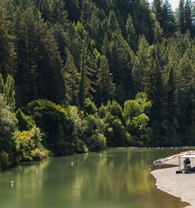 Gay resort area Russian River loses power, evacuated due to fires