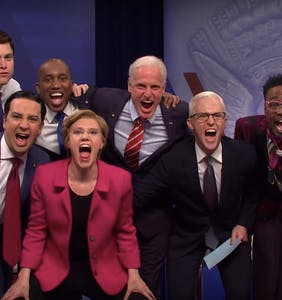 Saturday Night Live skewers Buttigieg & Biden in spoof of CNN's LGBTQ Town Hall