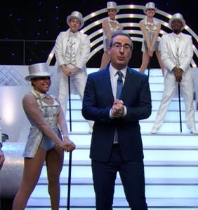WATCH: John Oliver's musical number taking down a vindictive coal CEO is peak HBO
