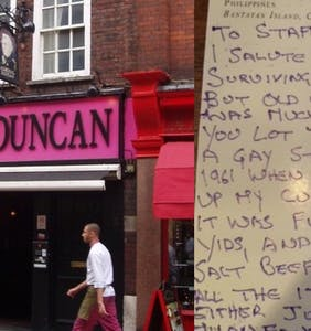 Bar receives bizarre letter accusing it of turning neighborhood gay