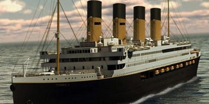 The Titanic is being recreated, and is scheduled to set sail in 2022