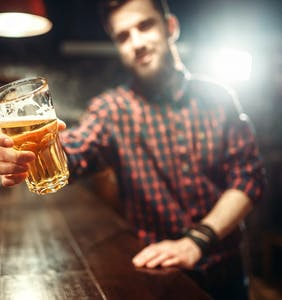 """Married father of six says he's """"1,000,000%"""" straight… until he gets drunk"""