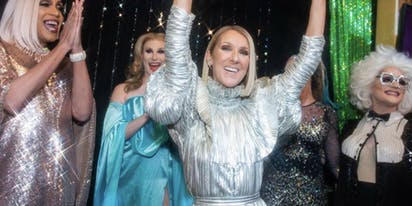 WATCH: Celine Dion sings karaoke to one of her own songs in NYC drag show