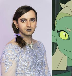 Noelle Stevenson & Jacob Tobia talk bringing genderqueer awesomeness to 'She-Ra' Season 4
