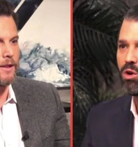 "Gay right-wing YouTuber Dave Rubin invites Don Jr. to call him a ""f*g"" because ""now we're equal!"""