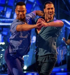 WATCH: UK's version of Dancing With The Stars features same-sex dance duo