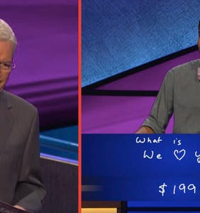 Everyone, including Alex Trebek, is crying over last night's emotional episode of'Jeopardy'
