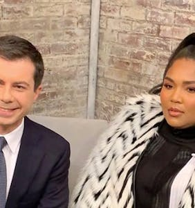 WATCH: Mayor Pete and Lizzo is a combination we didn't see coming