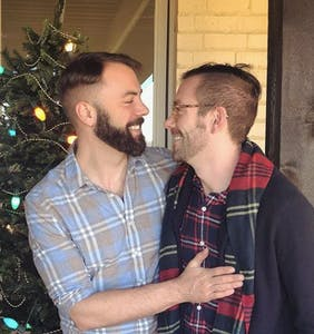 "Kit Williamson is giving the ""gospel of gay"" during the holiday season"