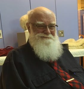 Gay Santa honored for his 30 years of holly, jolly service