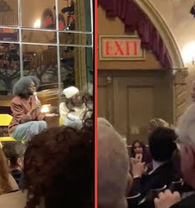 """Woman absolutely loses it during 'Slave Play' Q&A, calls playwright """"racist against white people"""""""