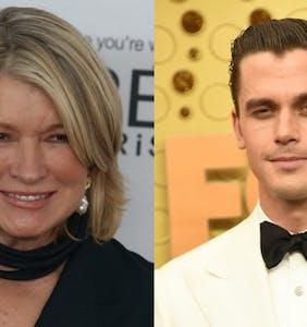 Martha Stewart and Antoni Porowski are in a social media feud. Martha's winning.