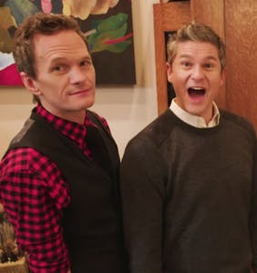 WATCH: See inside Neil Patrick Harris and David Burtka's NYC home