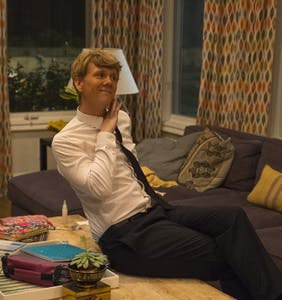 EXCLUSIVE: Josh Thomas gets goofy on the set of 'Everything's Gonna Be OK'
