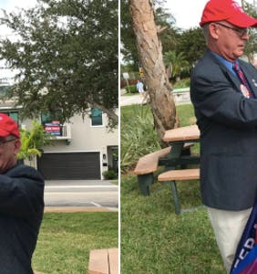 Everything went wrong when these gay Trump supporters tried throwing their own MAGA rally