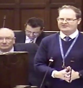 WATCH: Politician called to resign over bizarre antigay rant